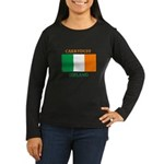 Carryduff Ireland Women's Long Sleeve Dark T-Shirt