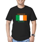 Carryduff Ireland Men's Fitted T-Shirt (dark)