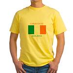 Carryduff Ireland Yellow T-Shirt