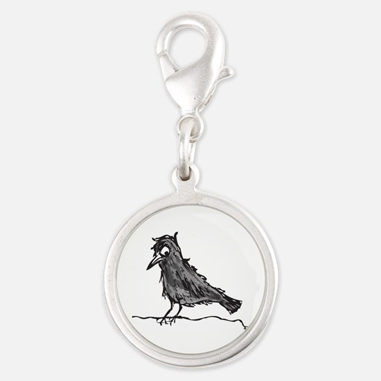 Large logo.png Silver Round Charm