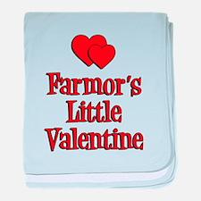 Farmors Little Valentine baby blanket