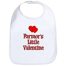 Farmors Little Valentine Bib