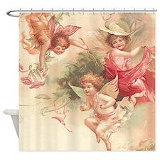Cupid Angel 3 Shower Curtain