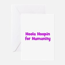 Hoola Hoopin for Humanity Greeting Cards (Package