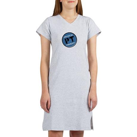 PTLOGO T BLUE.png Women's Nightshirt