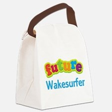 Future Wakesurfer Canvas Lunch Bag
