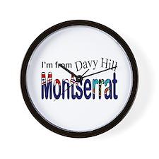 Davy Hill Montserrat Wall Clock