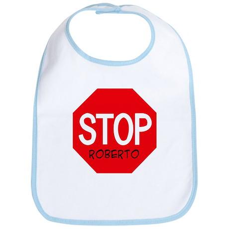 Stop Roberto Bib