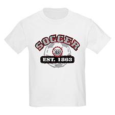Soccer Est 1863 T-Shirt