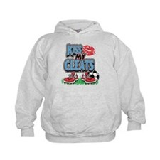 Soccer Kiss My Cleats Hoodie