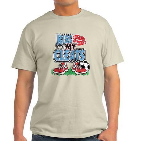 Soccer Kiss My Cleats Light T-Shirt