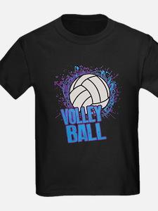 Volleyball Splatter T