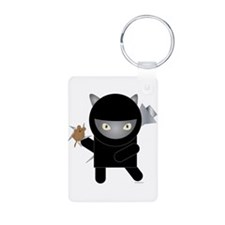 Ninja Kitty Keychains