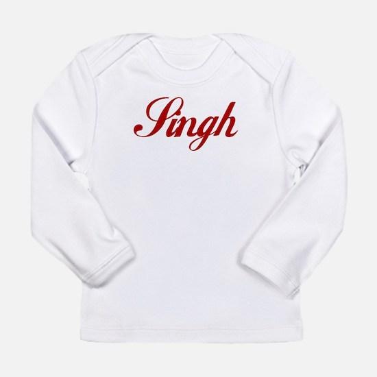Singh name.png Long Sleeve Infant T-Shirt