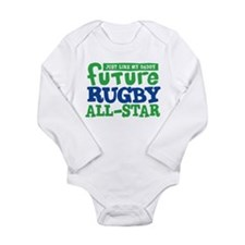 Future Rugby All Star Boy Long Sleeve Infant Bodys