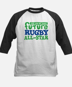 Future Rugby All Star Boy Kids Baseball Jersey