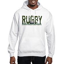 Rugby Blood Sweat Teeth Hoodie