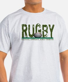 Rugby Blood Sweat Teeth T-Shirt