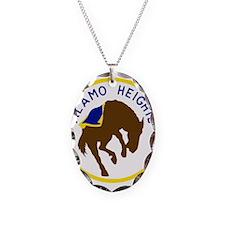 Alamo Heights High School Necklace