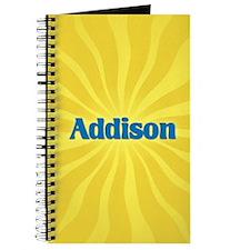 Addison Sunburst Journal