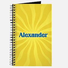 Alexander Sunburst Journal