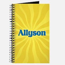 Allyson Sunburst Journal