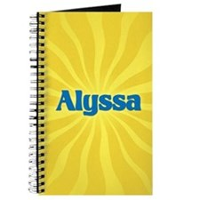 Alyssa Sunburst Journal