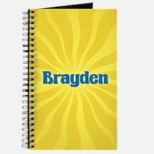 Brayden Sunburst Journal