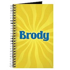 Brody Sunburst Journal