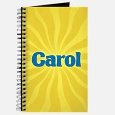 Carol Sunburst Journal