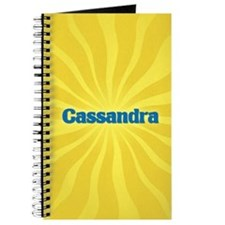Cassandra Sunburst Journal