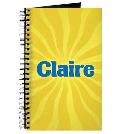 Claire Sunburst Journal