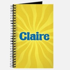 Claire Sunburst Journal