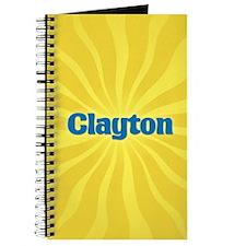 Clayton Sunburst Journal