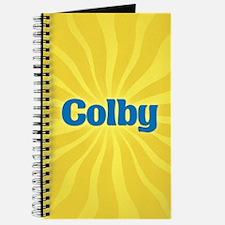 Colby Sunburst Journal