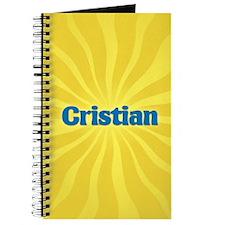 Cristian Sunburst Journal