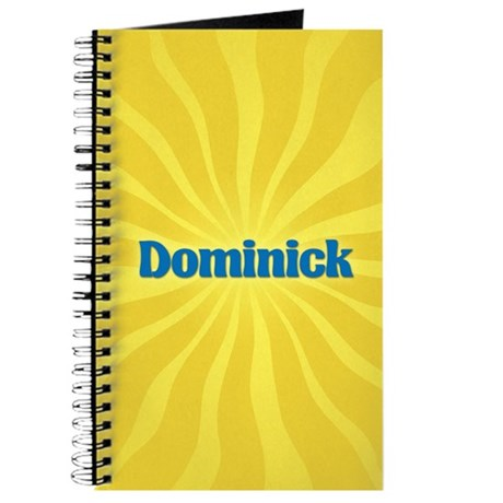 Dominick Sunburst Journal