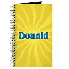 Donald Sunburst Journal