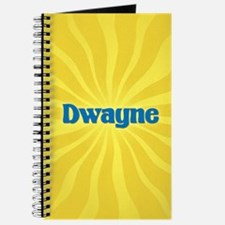 Dwayne Sunburst Journal