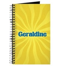 Geraldine Sunburst Journal