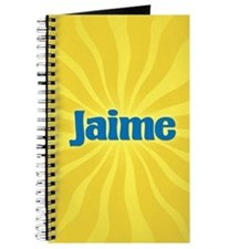 Jaime Sunburst Journal