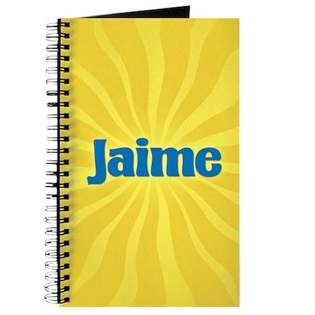 Jaime Sunburst Journal