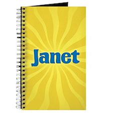 Janet Sunburst Journal
