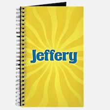 Jeffery Sunburst Journal