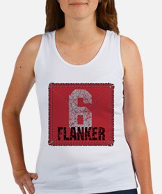 Rugby Flanker Women's Tank Top