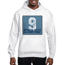 Rugby Scrum Half Hoodie