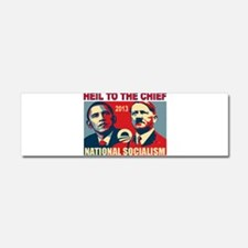 HEIL OBAMA Car Magnet 10 x 3