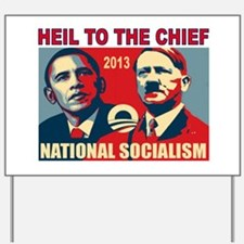 HEIL OBAMA Yard Sign