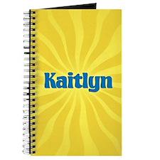 Kaitlyn Sunburst Journal