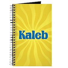 Kaleb Sunburst Journal
